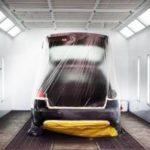 Порошковая покраска автомобилей/Powder coating of cars